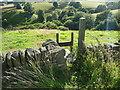 SE0221 : Stile on footpath off Kennel Lane by Humphrey Bolton