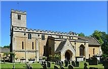 SP1106 : Church of St Mary, Bibury, Gloucestershire by Oswald Bertram