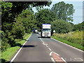 TF7314 : HGV on the A47 near to Pentney by David Dixon