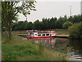 SE5952 : Tourist boat turning on the Ouse by Stephen Craven