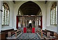 TF9434 : Great Snoring: The Church of St. Mary the Virgin: The mostly intact c15th rood screen by Michael Garlick