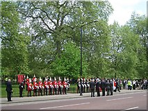 TQ2879 : The Blues and Royals remember the 1982 Hyde Park bombing by Robin Stott