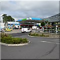 ST1500 : Filling station and Aldi supermarket, Honiton by David Smith