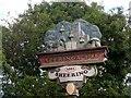 TL5013 : Village sign Sheering by Bikeboy
