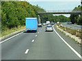 SU4559 : The Brenda Parker Way goes over the A43 by Ian S