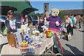 SP9211 : The Rennie Grove Hospice Care stall by Chris Reynolds