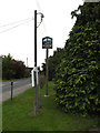 TQ7194 : Ramsden Bellhouse Village sign by Adrian Cable