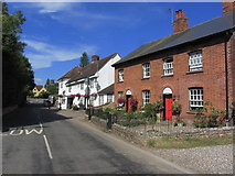 TL8928 : Chappel - Village street view N towards A1124 by Colin Park
