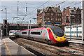 NY4055 : Glasgow - Euston train entering Carlisle station by The Carlisle Kid