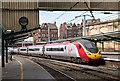 NY4055 : Edinburgh - Euston train entering Carlisle station by The Carlisle Kid