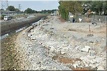 J3674 : Connswater path works, Belfast - September 2015(1) by Albert Bridge