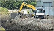 J3674 : Connswater path works, Belfast - September 2015(2) by Albert Bridge