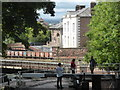 SJ4066 : North Gate Locks - Chester by Chris Allen