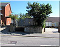 SZ5882 : Wilton Park Road electricity substation, Shanklin by Jaggery