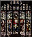 TF1169 : East window, St Lawrence's church, Bardney by Julian P Guffogg