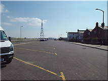 SD3035 : Parking at the north end of Seasiders Way, Blackpool by Robin Stott