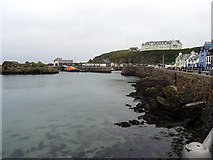 NW9954 : Portpatrick Harbour by John Lucas