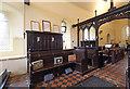TM0160 : St Augustine, Harleston - Stalls by John Salmon