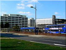 SU1584 : View across Fleming Way, Swindon by Brian Robert Marshall