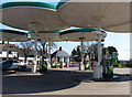 SK5808 : Red Hill filling station on the A6 Loughborough Road by Mat Fascione