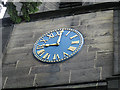 SE3337 : Former St John's church, Roundhay- clock dial by Stephen Craven