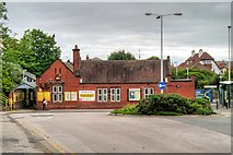 SJ2992 : Grove Road Railway Station, Wallasey Village by David Dixon