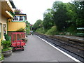SU5832 : The end of the platform at Alresford station by Marathon