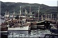 NM6797 : Mallaig Harbour 1966 by Peter Jeffery