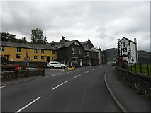 NY3915 : Post Office and White Lion Inn, Patterdale by Anthony Foster