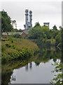 SE4326 : River Aire, Castleford by Chris Allen
