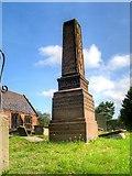 SJ4474 : Thornton-le-Moors War Memorial by David Dixon
