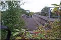 SU5009 : Disused bridge, Bursledon Brickworks by Richard Dorrell
