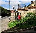 SO8603 : Queen Elizabeth II postbox on a Thrupp corner by Jaggery