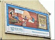 "J3674 : Phoenix Gas ""wanted"" poster, Belfast (September 2015) by Albert Bridge"