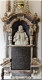 SK9239 : Monument to Richard Brownlow, Ss Peter & Paul church, Belton by Julian P Guffogg