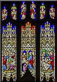 SK9239 : East window, Ss Peter & Paul church, Belton by Julian P Guffogg