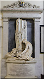 SK9239 : Monument to Brownlow Cust, Ss Peter & Paul church, Belton by Julian P Guffogg