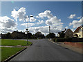 TM1663 : Gracechurch Street, Debenham by Adrian Cable