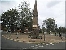 TQ0639 : Cranleigh obelisk by David Howard