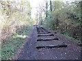 SO6113 : Iron Road by Richard Webb