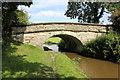SJ8459 : Bridge 83 on the Macclesfield Canal by Jeff Buck