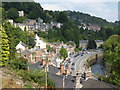 SK2958 : Matlock Bath from Temple Road by Chris Allen
