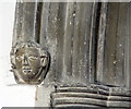 TL2744 : St Mary, Guilden Morden - Label head by John Salmon