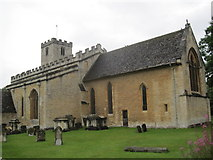 SP1106 : Church of St Mary, Bibury, Gloucestershire by Les Hull