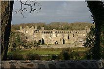 SM7525 : The Bishop's Palace, St.Davids by Alan Hughes