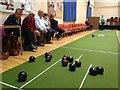 H4472 : Bowls night, Omagh Methodist Hall by Kenneth  Allen