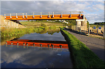 SD4764 : Temporary bridge over Lancaster Canal by Ian Taylor