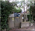 SZ5590 : Speeds Lane electricity substation, Havenstreet by Jaggery