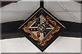 TL3044 : St Michael, Abington Pigotts - Hatchment by John Salmon