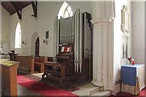 TL6153 : St Mary, Weston Colville - Organ by John Salmon